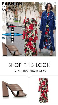 """""""Jean-ious Accessories ..."""" by dragananovcic ❤ liked on Polyvore featuring Chanel, Gucci and Dolce&Gabbana"""