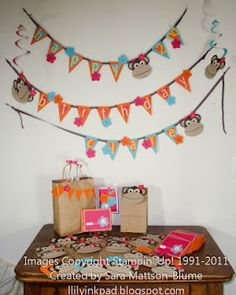 More fantastic birthday party ideas - how wonderful is this?!?  Nice Job Sara!