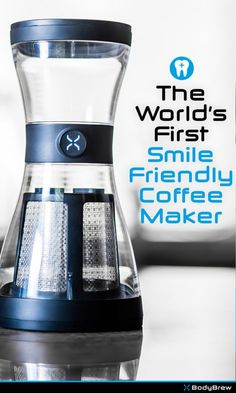 The World's First Smile Friendly Coffee Maker