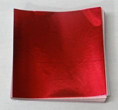6 X 6 Red Foil Candy Wrappers *** Quickly view this special deal, click the image : Baking desserts tools