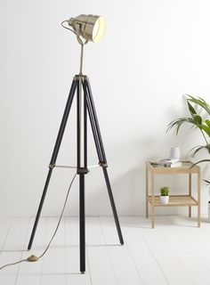 buy tripod floor lamp floor lamps the range. Black Bedroom Furniture Sets. Home Design Ideas