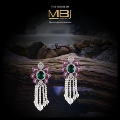 Be the cynosure of every occasion with the jewejllery from #thehouseofMBj. #MBjIndia #MBj #Earrings #Luxury #jewellery #Diamondjewellery