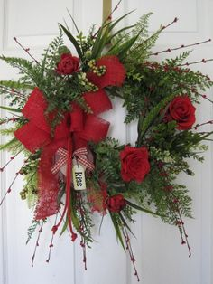 RED ROSES By Four Season Wreaths on eBay