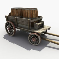 max old wooden cart barrel Wooden Cart, Wooden Wagon, Wooden Diy, Old West Photos, Medieval, Vegetable Pictures, Horse Drawn Wagon, Old Wagons, Old Country Stores