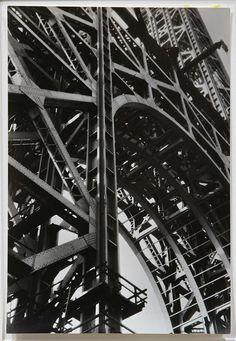 "Berenice Abbott (American, 1898-1991), ""George Washington Bridge Under Construction, New York,"" circa 1934"