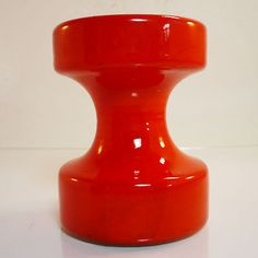 RARE West German Pottery candlestick • Cari Zalloni • Steuler