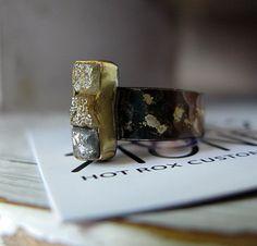 Rough Diamond Cube Ring
