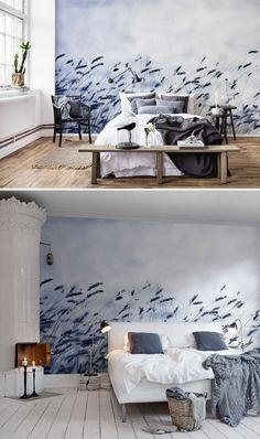 kleine zimmerdekoration design temporary backsplash, 173 best tapeten ♡ wohnklamotte images on pinterest in 2018, Innenarchitektur