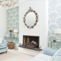 I've got my hands on some of my favorite Farrow + Ball wallpaper, Lotus. It's a French inspired wallpaper and sort of reminds me of a very modern damask print. I love it. With my passion for neutral, I've decided to grab some in a neutral shade and add something to my bedroom. My walls are e
