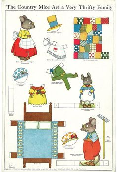Sugg-Country Mice Thrifty Family by Hammon