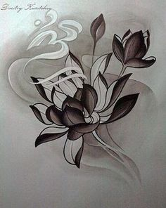 45 Ideas For Tattoo Lotus Buddha Etsy Japanese Flower Tattoo, Japanese Tattoo Designs, Japanese Flowers, Flor Tattoo, Lotus Tattoo, Design Tattoo, Flower Tattoo Designs, Neue Tattoos, Body Art Tattoos
