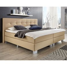 1000 ideas about boxspringbett 140x200 on pinterest boxspringbett boxspringbett 180x200 and. Black Bedroom Furniture Sets. Home Design Ideas