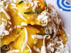 Ricetta Portata principale : Tortelli di zucca con amaretti e ricotta salata da Claudia carotina