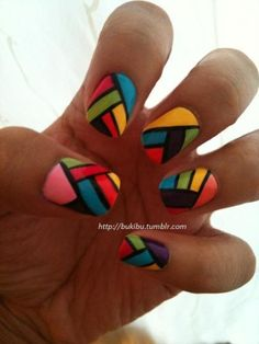 Cool Nail Art Ideas to Turn Heads | Stain Glass Window