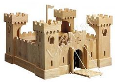 Medieval castles made of wood make fantastic gift ideas for children of all ages.  Playing encourages imagination, sharing, and allows a childs mind to wander away from computer games.