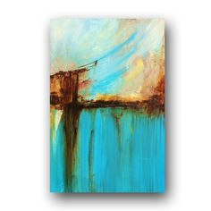 Abstract Painting Large Original Painting by heatherdaypaintings, $225.00