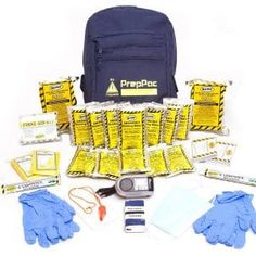 Disaster Preparedness Kit is  a great bug out bag that works for 2 people. comes 2 2400 calorie food bars and can last up to 72 hours