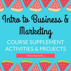 This bundle is jam-packed with 36 engaging activities and projects! This resource is designed to supplement your Introduction to Business and Marketing course. Included in this resource you will find 6 units + 1 bonus unit and bellringers for the semester. 6 Key units included in this resource: Economics, Business Ownership, Marketing, Advertising, Accounting, and Careers. Plus bonus content including various other business related topics.