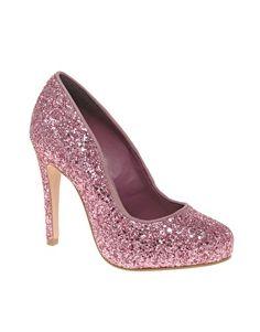 Carvela Antibes Glitter Platform Court Shoes $150.40