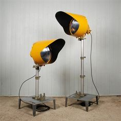 vintage runway lights