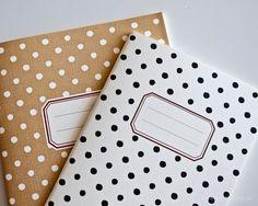 Polka Dot Notebooks