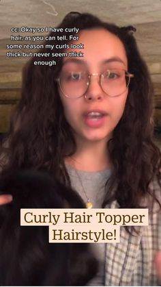 Curly Hair Pieces, Curly Hair Styles, Before After Hair, Hair Toppers, Hair Transformation, Human Hair Wigs, Naturally Curly, Brown Hair, Hair Extensions