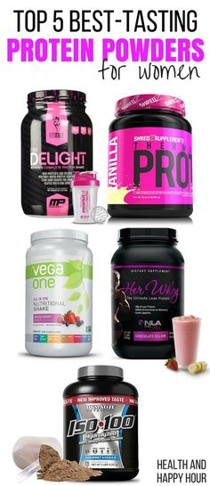 Protein is perhaps THE most important part of a healthy diet, and we have ranked the best protein powders for women! http://healthandhappyhour.com/top-5-best-tasting-protein-powders-for-women/