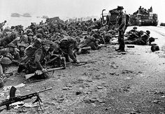 D-Day, Normandy, France, June 6, 1944.