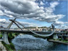 Ponte do milenio (Ourense) Por Jose Luis Cernadas Iglesias