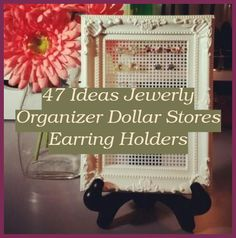Jewelry Organizer Stand Dollar Stores | 47 Ideas Jewerly Organizer Dollar Stores Earring Holders | Jewelry Organizer Box Cases | Jewelry Organizer Ideas Dollar Stores Jewelry Organizer Stand, Jewelry Organization, Best Book Reviews, Types Of Purses, Earring Holders, Unique Purses, Macrame Jewelry, Shape Design, Bracelet Making