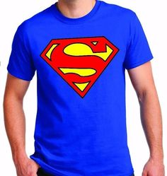 09f63fbb9 CLASSIC SUPERMAN LOGO T-SHIRT COLOR ROYAL BLUE ( 122731698947) - Clothing