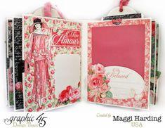 Mini album, Mon Amour, Maggi Harding, Graphic 45