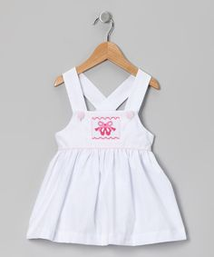 Take a look at this White Ballet Slippers Jumper - Infant, Toddler & Girls by patycake kids on #zulily today!