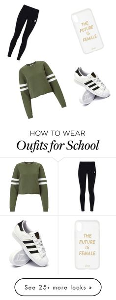 """Back To School"" by jean7814 on Polyvore featuring Miss Selfridge, adidas Originals, adidas and Sonix"