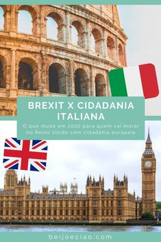 Brexit em 2020: o que muda para quem vai morar no Reino Unido com cidadania italiana, espanhola ou portuguesa. Entenda os prazos e procedimentos! Taj Mahal, Louvre, Building, Travel, Kiss, Travel Tips, Viajes, England, United Kingdom
