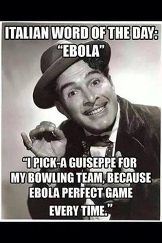 ok.. this is my twisted Italian humor ... I'm 100% Italian and a nurse with a sick humor