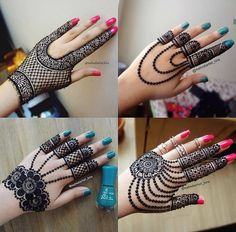 Henna Designs for Wedding on Hand Brides Girl that Suitable for Beginners 02012019 Modern Henna Designs, Back Hand Mehndi Designs, Mehndi Designs For Girls, Mehndi Designs 2018, Mehndi Designs For Beginners, Mehndi Designs For Fingers, Mehndi Design Pictures, Henna Designs Easy, Beautiful Henna Designs