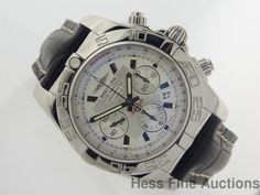 AB0110 Breitling Chronomat Men's Automatic Chronometer Chronograph Date Watch