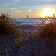 Frankfort, Michigan Lake Michigan Taken by: Kristi Takens at Geekgeekgrl on Instagram