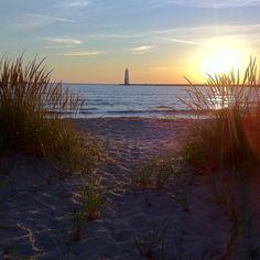 Frankfort, Michigan Lake Michigan Taken by: Kristi Takens at Geekgeekgrl on Instagram