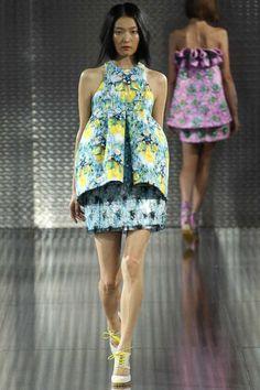 Mary Katrantzou Spring 2014 Ready-to-Wear Collection Slideshow on Style.com #londonFW #londonfashion