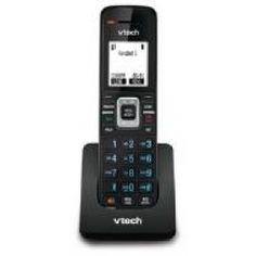 Description:The Vtech is a ErisTerminal SIP phone equipped with the latest DECT digital technology, with built-in speakerphone and conferencing. The handsets support up to 4 SIP lines/accounts plus two soft keys for simple call handling. Line Account, Cordless Telephone, Caller Id, Digital Technology, Computer Accessories, Stuff To Buy, Phones, 7 Hours, Touch
