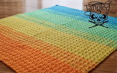 [Free Pattern] This Blanket Works Up Fast And Is Simple Enough For Beginners!
