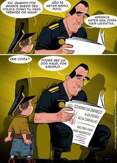 Cartoon: O bom exemplo