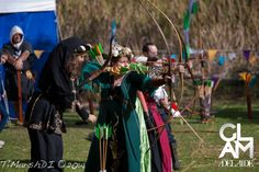 Me in my Medieval Archer costume 2014.