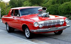1963 Dodge Hemi 330, Street Machine - blog cars on line