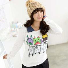 Buy '59 Seconds – Inset Collar Printed Pullover' with Free International Shipping at YesStyle.com. Browse and shop for thousands of Asian fashion items from Hong Kong and more!