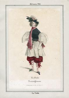 La Mode, 1832 - Los Angeles Public Library