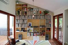 Another happy customer whose record collection is now a feature of his room thanks to our boxes