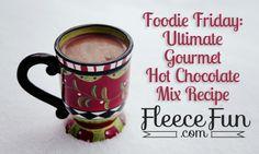 Hot chocolate, Hot chocolate mix and Chocolate mix on Pinterest